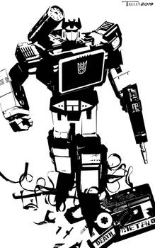 Soundwave Death Metal by Tom Kelly