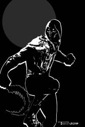 Noob Saibot wraith mk11 By Tom Kelly