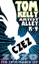 Tom at C2E2 2020 promo by Tom kelly