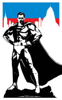 Superman Steel Sentinel By Tom Kelly