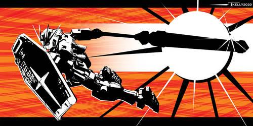 Gundam Strike By Tom Kelly