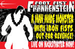 Foot Fist Frankenstein promo 777 by Tom Kelly by TomKellyART