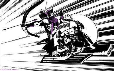 Hawkeye Sky Cycle By Tom Kelly
