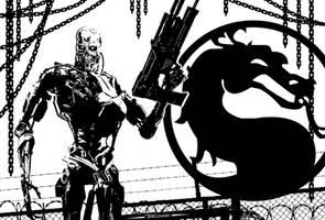 Terminator Skeleton By Tom Kelly