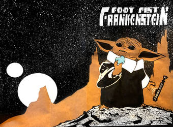 Baby Yoda sketch cover by Tom Kelly