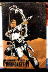 Shooting arrow Aloy by Tom Kelly