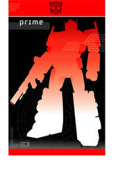 optimus prime by artist Tom Kelly by TomKellyART