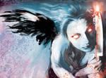 blood angel by artist Tom Kelly by TomKellyART