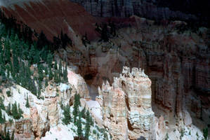 Bryce Canyon Shaded by Cloud