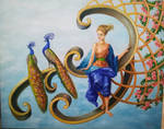 Hera and the peacocks