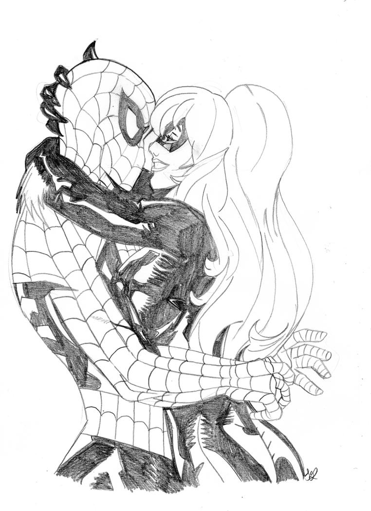 The Spider and the Black Cat by red devil saz on DeviantArt