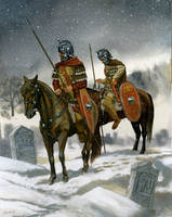 Roman Cavalry 3rd C. AD by Fall3NAiRBoRnE