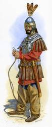 Byzantine Cavalryman 6th C. AD by Fall3NAiRBoRnE