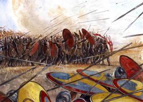 Battle of Argetoratum 357 AD by Fall3NAiRBoRnE