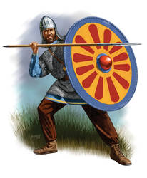 Byzantine Infantry 6th C. AD by Fall3NAiRBoRnE