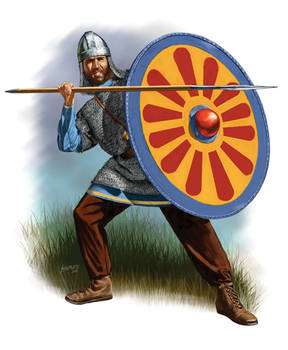 Byzantine Infantry 6th C. AD