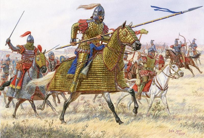 Roman Cav. IV-V Century AD by Fall3NAiRBoRnE
