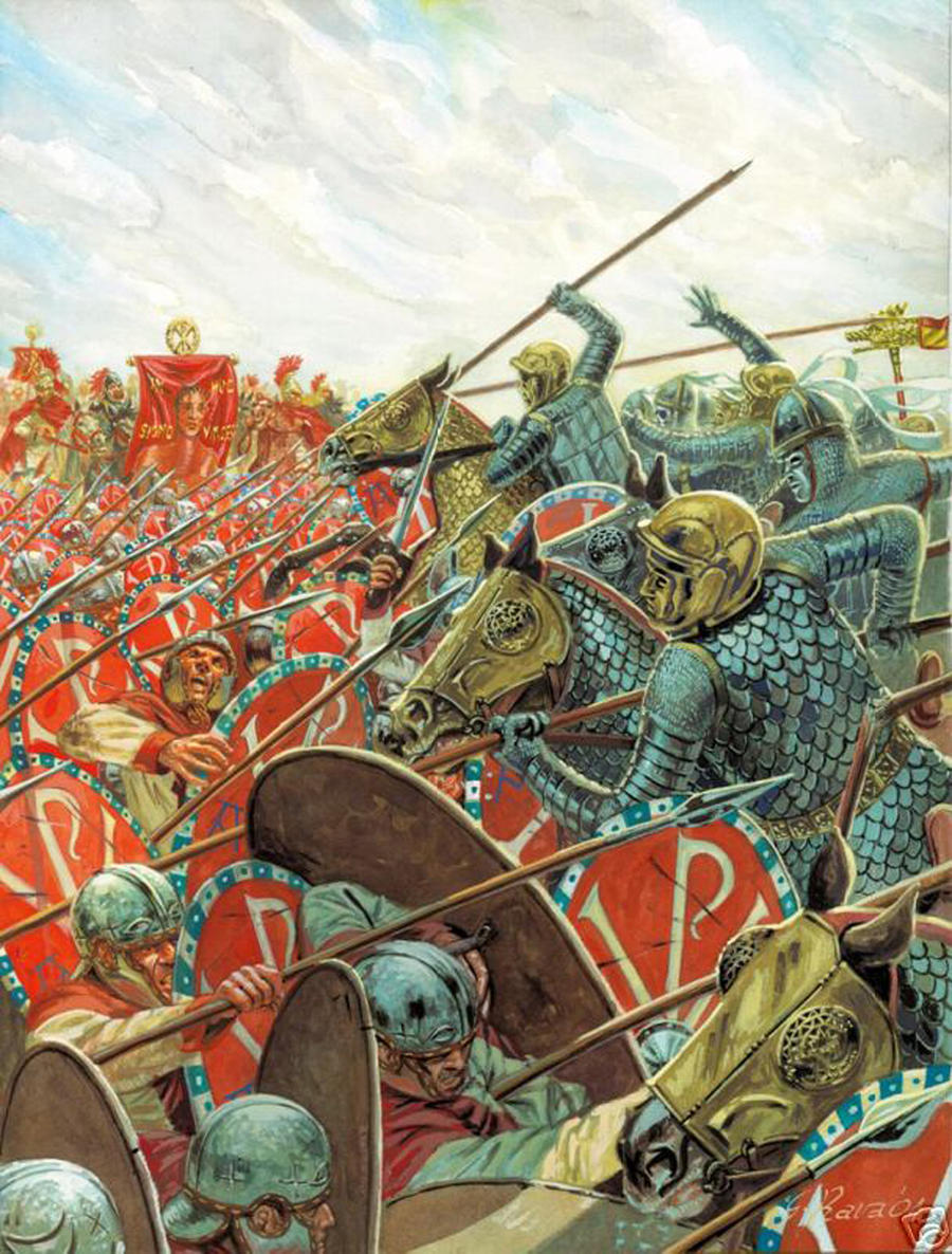 Late Roman Civil War by Fall3NAiRBoRnE