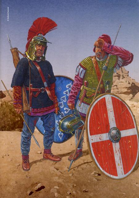Lanciarii Legio II Parthica by Fall3NAiRBoRnE