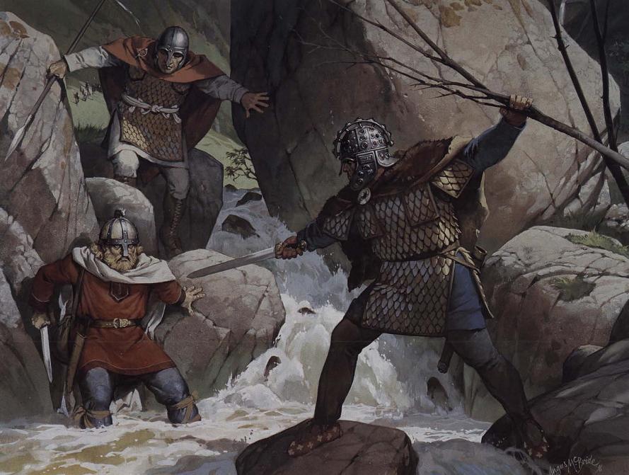 Romano British vs Saxon by Fall3NAiRBoRnE