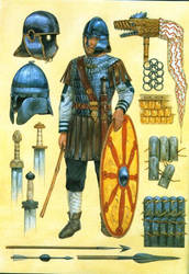 Legio II Britannica 4th C. AD by Fall3NAiRBoRnE
