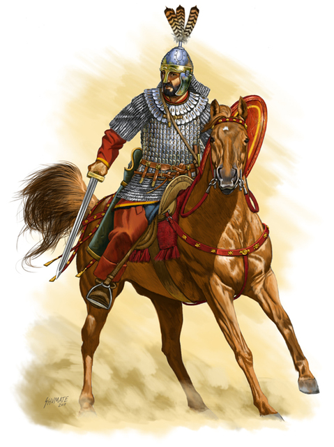 Byzantine Cavalry 6th C. AD by Fall3NAiRBoRnE
