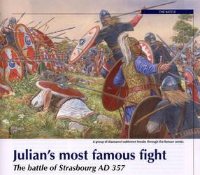 Battle of Strasbourg 357 AD
