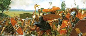 Caesar's Legion Battling Gauls