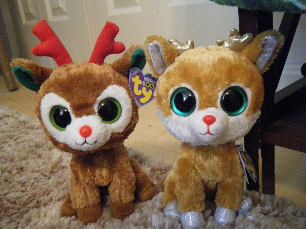 e204a9549f8 Beanie Boo Reindeer By Shadoweoncollections On Deviantart