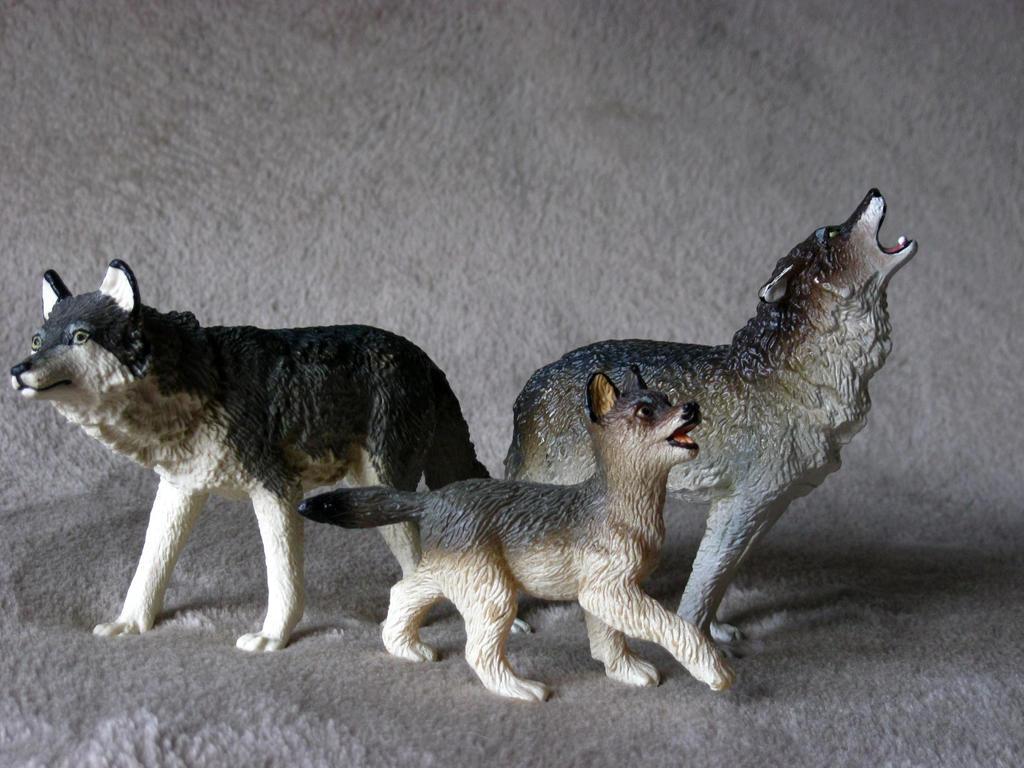 Wolf Family Toy : Safari ltd vanishing wild timber wolf family by