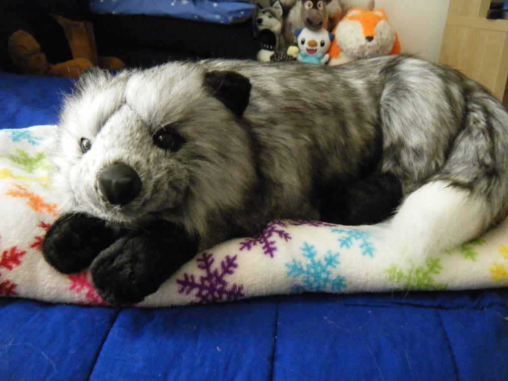 Silver Fox Stuffed Animal, Silver Fox Plush Z Gallerie Exclusive By Shadoweoncollections On Deviantart