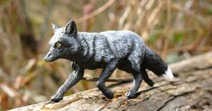 Custom Papo Silver Fox Repaint
