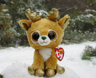 09398083f85 ShadoweonCollections 2 1 Ty Beanie Boos Reindeer- Glitzy by  ShadoweonCollections