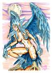 Blue Aello