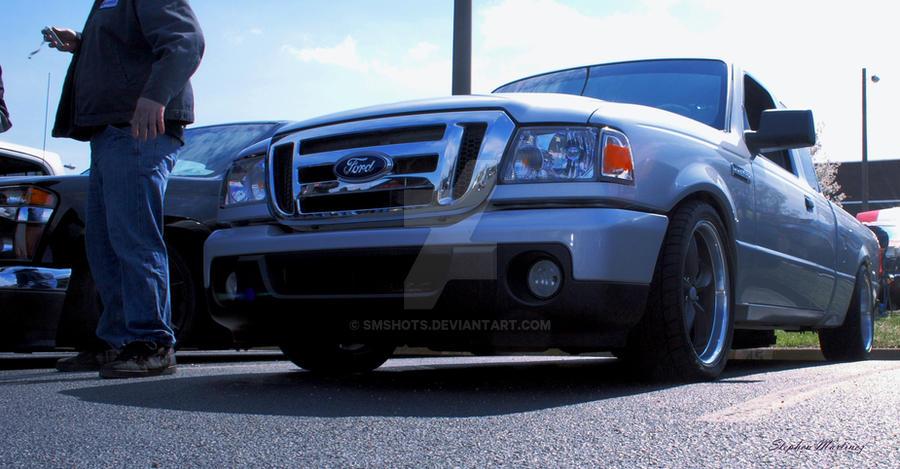 Ford Ranger Slammed By SMshots