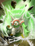 Chesnaught - Chespin final evolution