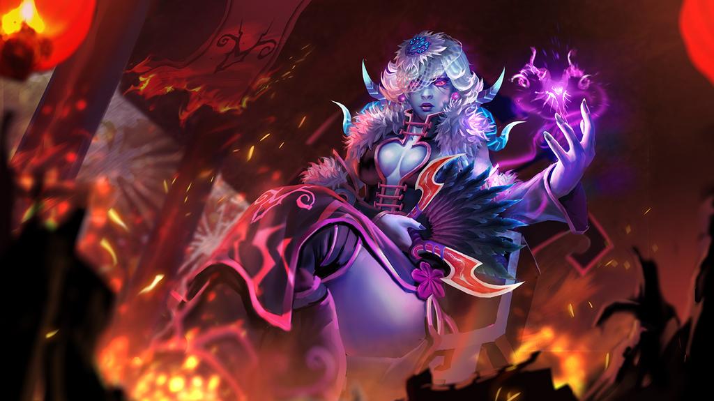 Loading Screen for Dota2 Vengeful spirit set by KeiNhanGia