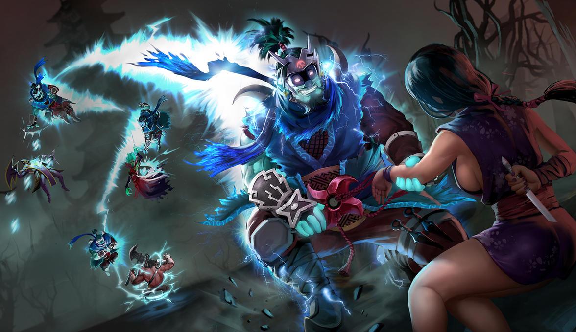 Storm Spirit Ninja by KeiNhanGia