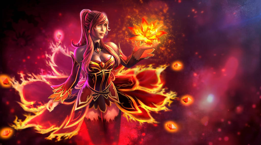 The Bewitching Flame - Loading screen by KeiNhanGia