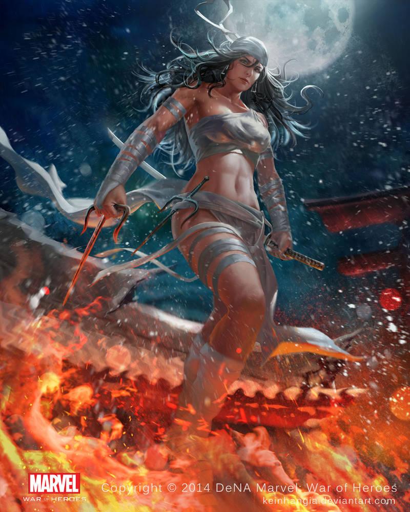 Elektra - Marvel War of Heroes by KeiNhanGia