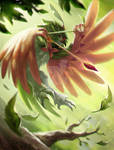 Decidueye - Rowlet offical final evolution