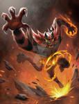 Incineroar - Litten offical final evolution