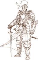 half plate suit of armor