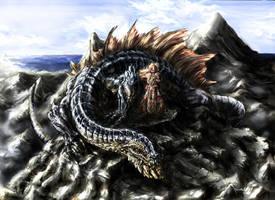 Sand dragon by Art-Calavera