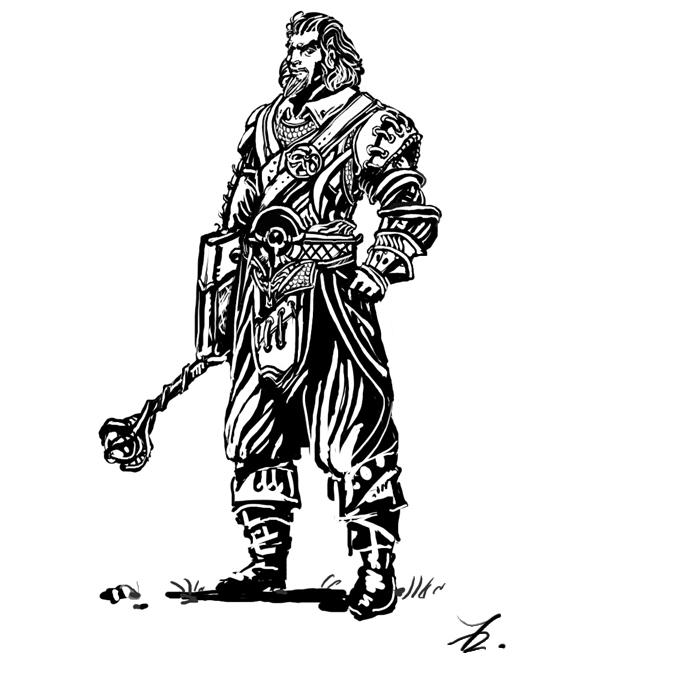 Warlock by Art-Calavera