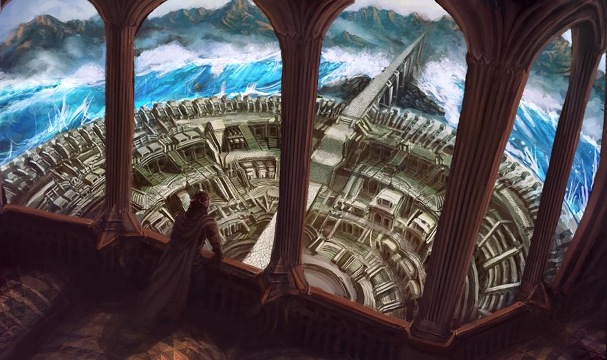 Tales from Three Ages / Yaramis Palace by Art-Calavera