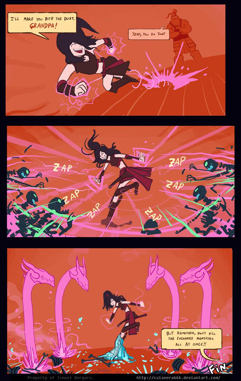 Diabolesques,  Aria of effect. -Final Chapter- by Art-Calavera