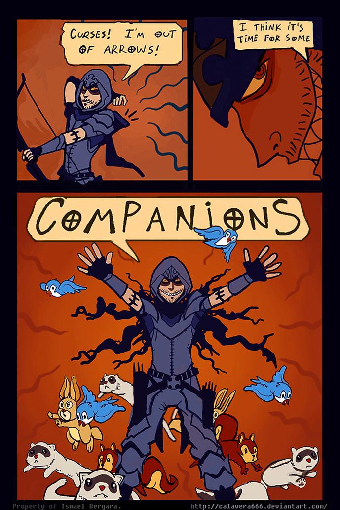 Diabolesques: Companions by Art-Calavera