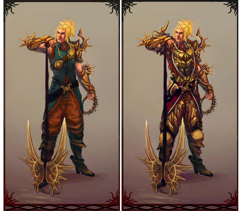 Light fantasy armor