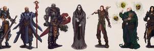 Chronicles of Jinx / Character Design Lineup by Art-Calavera